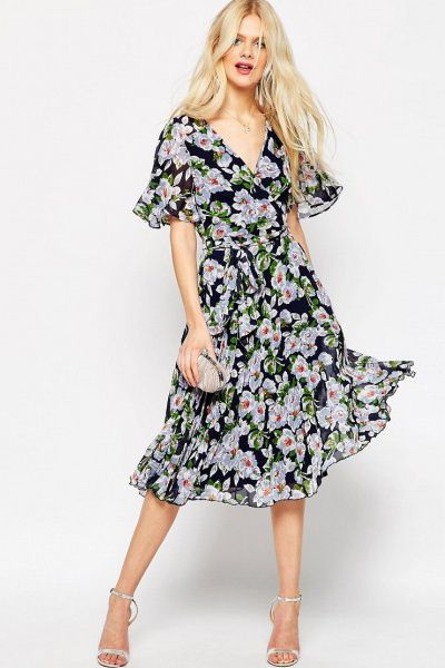 asos-pleated-wrap-midi-dress-in-floral-print-multi.jpg (400×600)