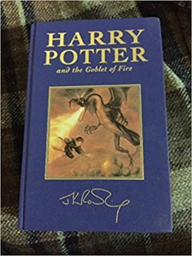 Harry Potter Deluxe Hardcover Set: Harry Potter and the Philosopher  Stone and Harry Potter and the Golblet of Fire (Volume 1; Volume 4): J. K. Rowling: