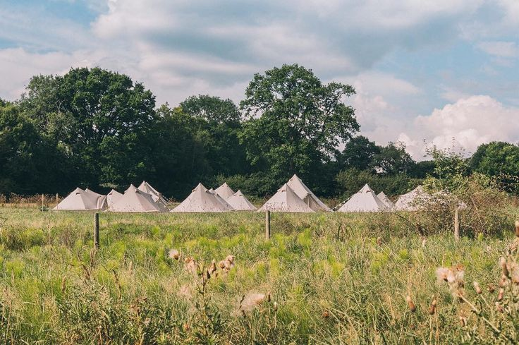 Huge congratulations to all our couples this year! If you're getting married in 2018 and fancy offering bell tents as accommodation for your guests then drop us an email