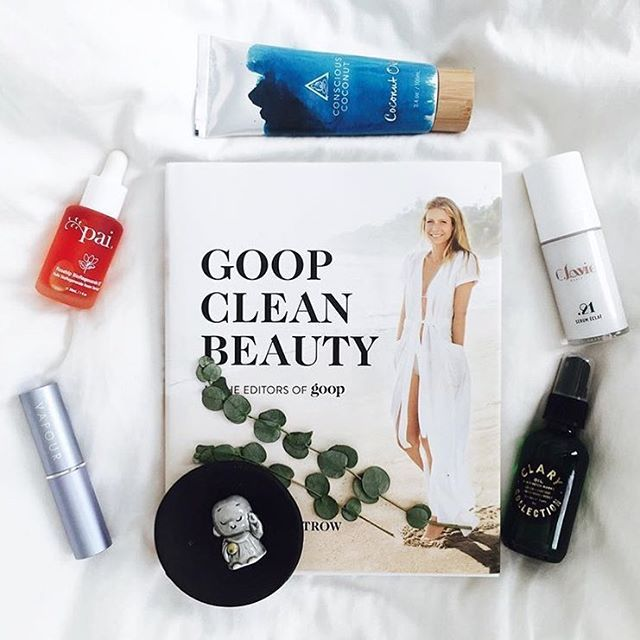 #CheckYourInbox: We're giving you a peek at our new book, Goop Clean Beauty––in bookstores everywhere on 12/27––which covers everything from detox recipes to skin-perfecting regimens to foam rolling tutorials. Tap the link in our bio to pre-order your copy. : @howyouglow #goodcleangoop