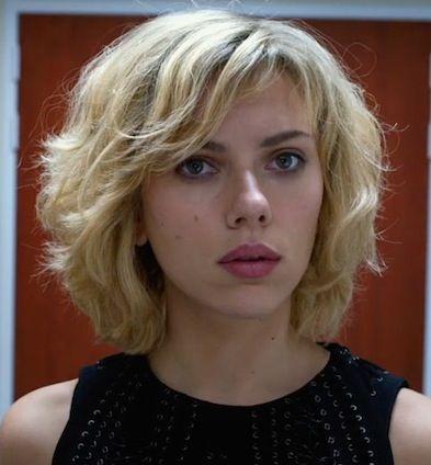 Scarlett Johansson In Lucy Hair In 2019 Scarlett