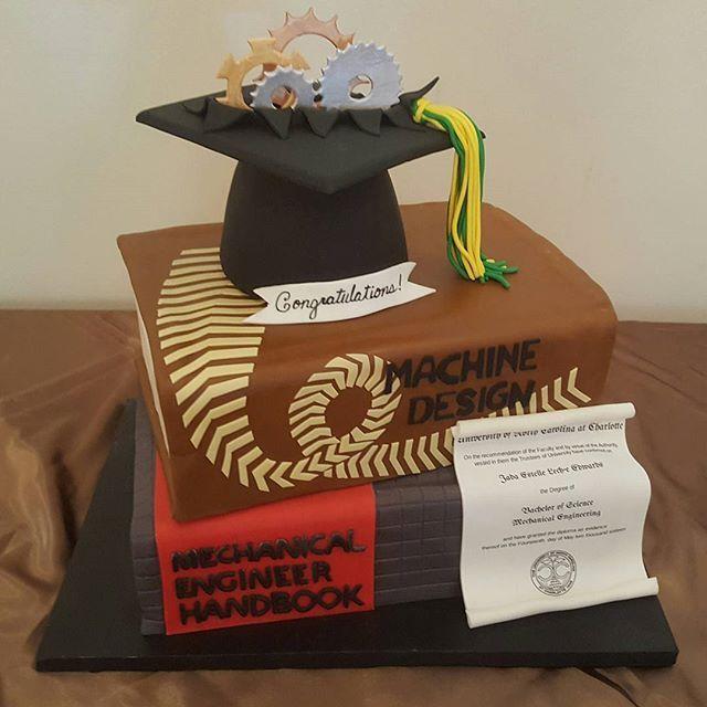 Engineer Graduation Cake