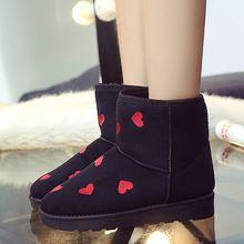 Ayak bileği Çizmeler Kış Ayakkabı Yüksek Kalite Kırmızı Kadın Kar Tall kadın Sonbahar Platformu Overknee Üst Marka Süet Siyah Bot Bayanlar kadın(China (Mainland))
