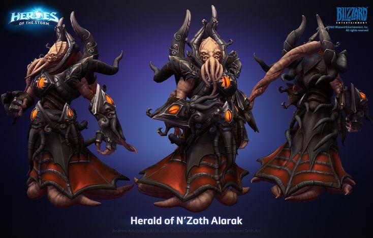 ArtStation - Alarak Herald of N'Zoth skin, Andrew Kinabrew