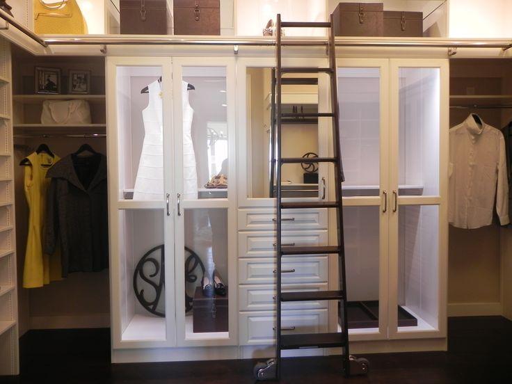 Ladder Closet.  Love this ideal!
