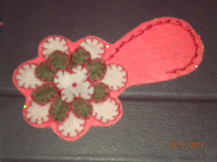 This will be a head band. I need to add the leaves but this is my fav