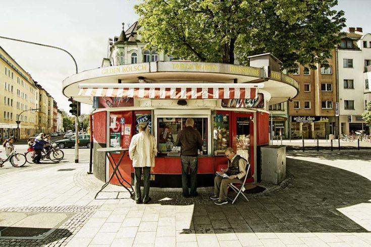 AM BÜDCHE - Fotos von Büdchen in Köln