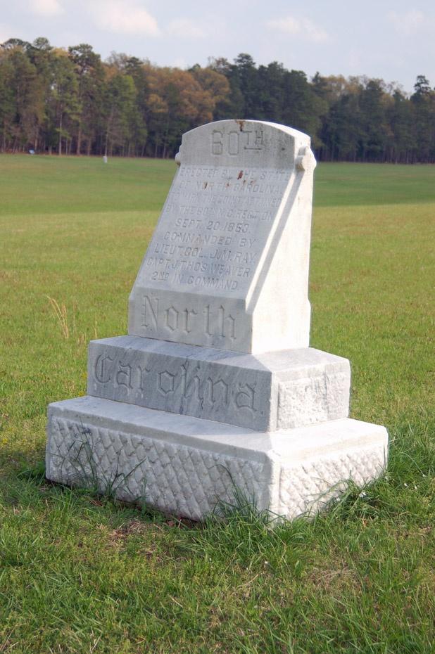 60th North Carolina Monument Battle Of Chickamauga