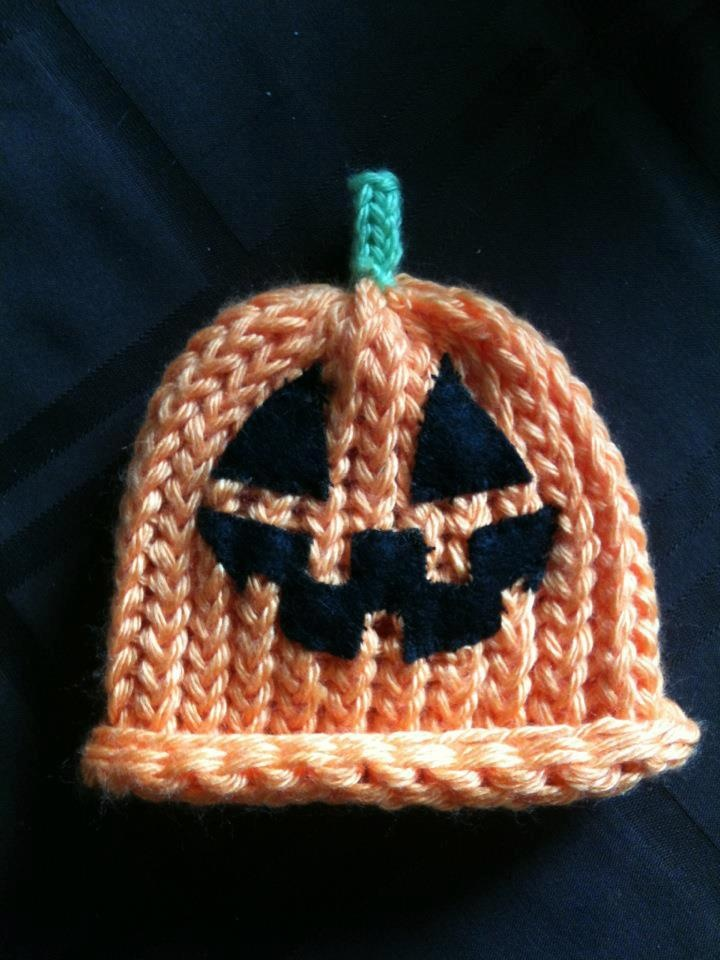 """My little stinkers hats """"Jack O' Lantern hat"""" all sizes $7 for 0-8months $10 for 1 year and older $15 for Adults www.facebook.com/mylittlestinkershats."""