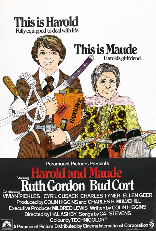 Harold and Maude Premiered 21 December 1971