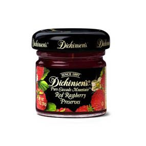 Single Servings - Dickinson's® Cascade Mountain™ Red Raspberry Preserves