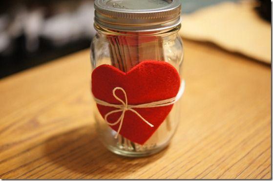 valentine's day diy: sparks card & date night jar.