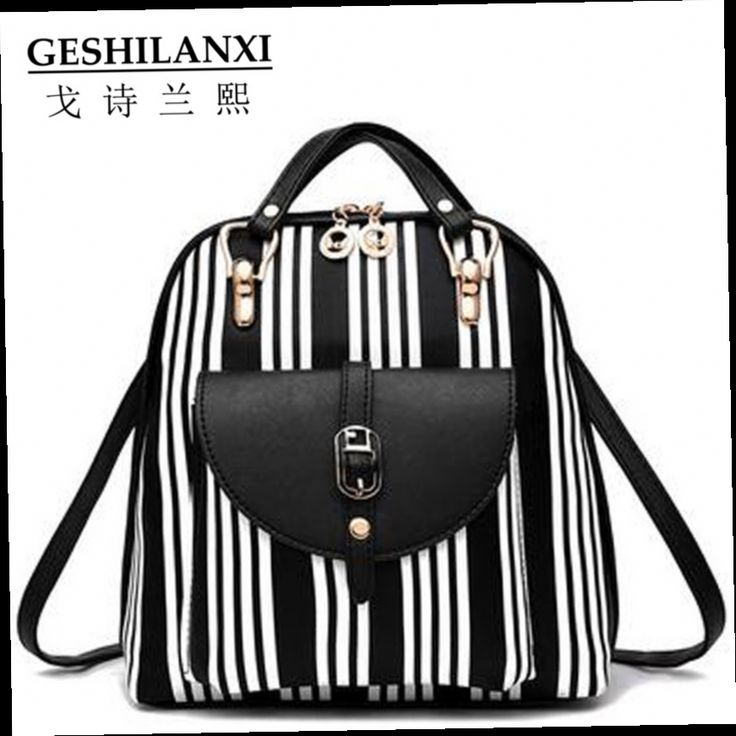 47.98$  Watch here - http://aligjl.worldwells.pw/go.php?t=32756587874 - 2016 bags famous brands women backpack fashion PU material Pure color delicate decorate printing fashion 47.98$