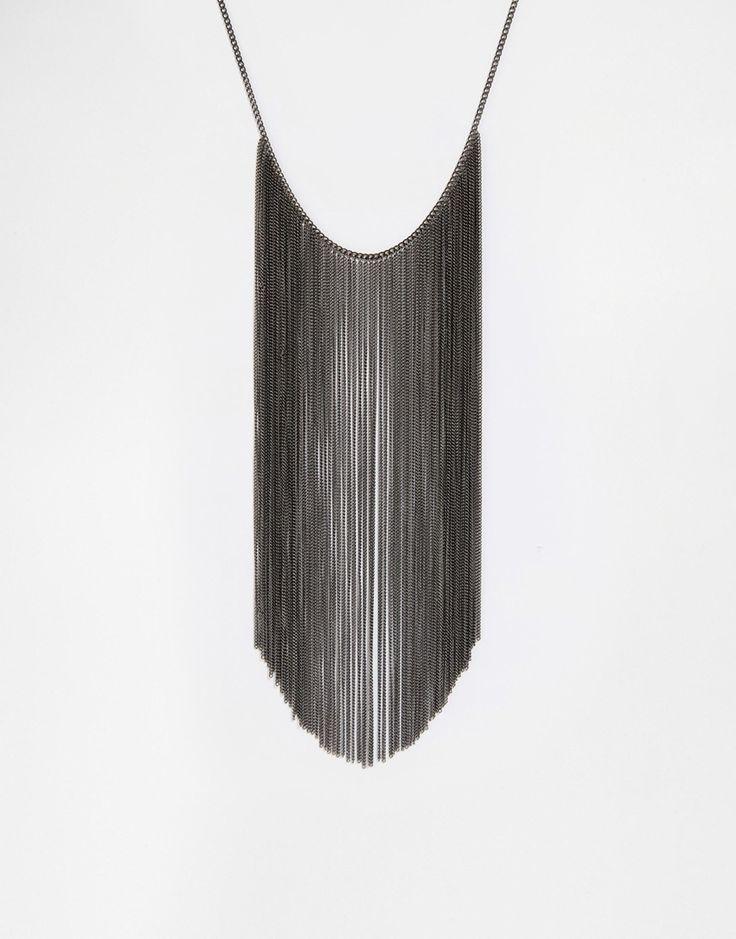 Изображение 1 из Броское ожерелье с бахромой Pilgrim