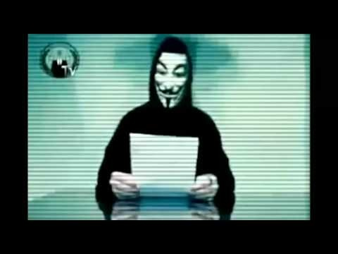 'This is just the beginning': Hacking group Anonymous takes over Greek Ministry of Justice website and warns other Governments are in its sights