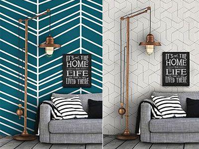 Η εντυπωσιακή διακόσμηση στις κάθετες επιφάνειες του σπιτιού είναι θέμα... τοίχου και σίγουρα όχι τύχης! Πάρτε ιδέες και -με ελάχιστο κόστος- δώστε νέο αέρα στο σπίτι σας.