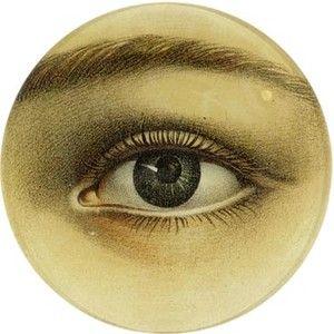 John Derian eye decoupage