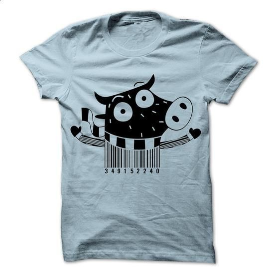 Barcode cow T-Shirts - #cool tshirt designs #music t shirts. MORE INFO =>…