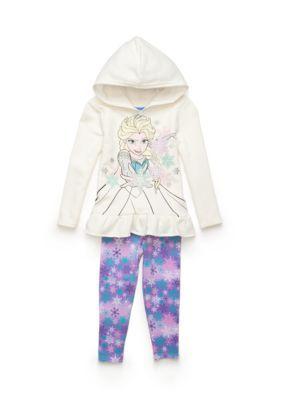 Disney  Frozen Fleece Legging 2-Piece Set Girls 4-6x