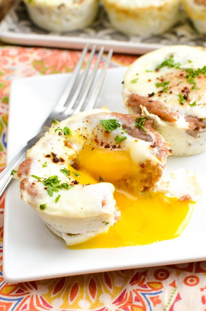Start your day, with these delicious Sausage and Egg Breakfast Muffins, a great protein choice that will keep you feeling well satiated.
