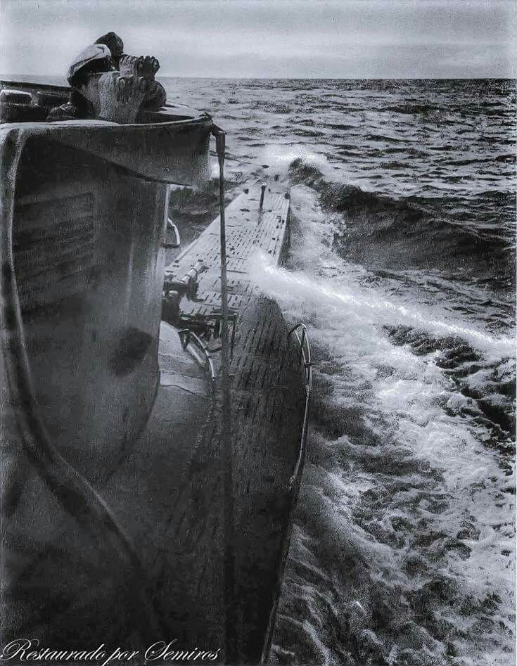U-96 VIIC  Commanded by Frigattenkapitan Heinrich Lehmann-Willenbrock he was ranked as the 6th in the ranks of U-Boat aces. He is famous because one of his patrols was recorded by reporter Lothar Gunther Bochheim, this would form the basis for the TV series Das Boot. Willenbrock would survive the war.
