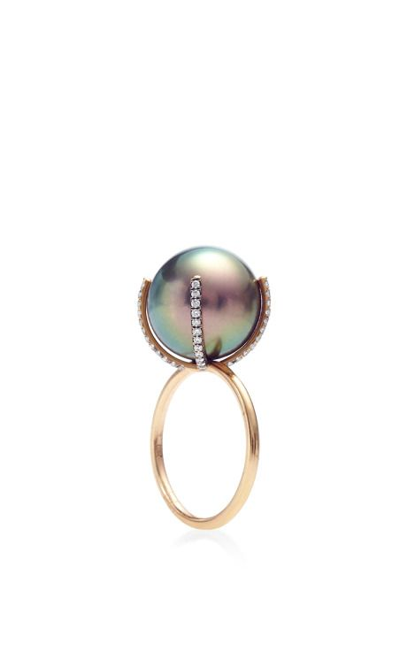 Pearl Ring by Susan Foster for Preorder on Moda Operandi