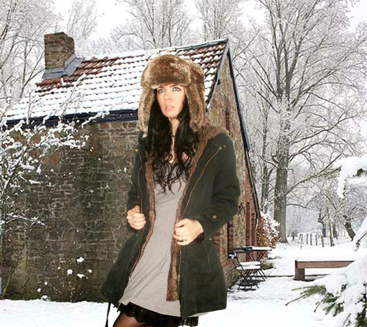 Russian winter hat with ear flaps that can be tied together either above the hat crown or under the chin. This hat also known as #Shapka-Ushanka, #Aviator...  Winter outfits 2015  Jennifer Kaya Canadian fashion blogger www.jenniferkaya.com  #business outfits #fall outfits #skirt #jacket  #dress #autumn #autun outfit #ootd #fall  #fashionblogger #fall fashion #fall fashion style #style #street style #coat #jacket #fur jacket #casual outfit #casual winter outfits #scarf #black outfit #scarf…