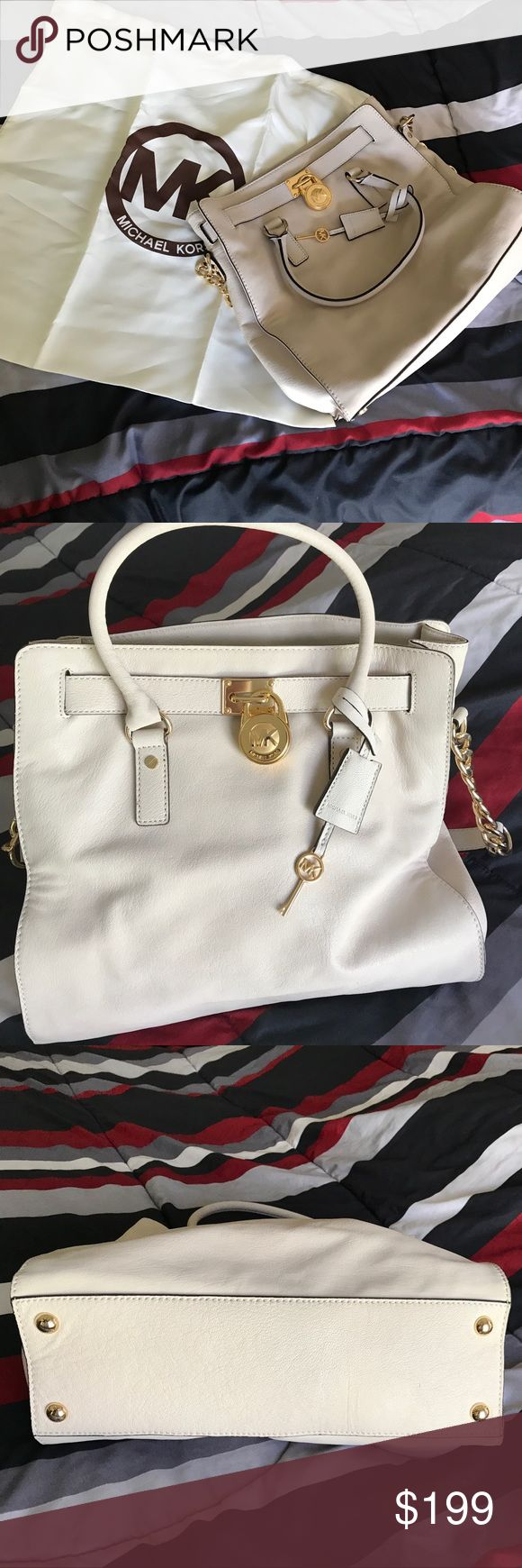 Michael Kors Hamilton bag 💼 Michael Kors Hamilton Large Bag 💼 Beautiful, used only once.... Michael Kors Bags Totes