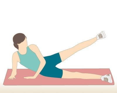 Exercices abdos-fessiers