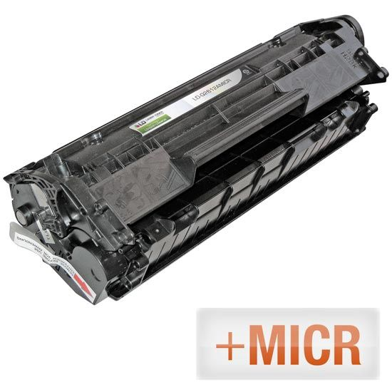 (MICR Toner) Remanufactured Replacement Laser Toner Cartridge for Q2612A (HP 12A) Black: Save money with our remanufactured black laser…