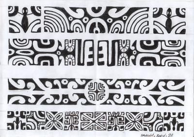 tatouage polynésien bracelet - Recherche Google