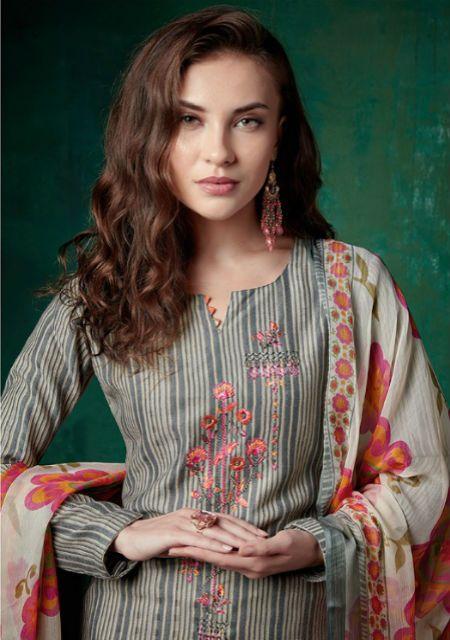 1df523b2a8 Sanna Inayat Pure Pashmina Japan Chiffon Salwar Suit 9386 | WINTER ...