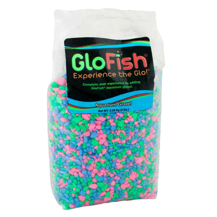 GloFish Aquarium Gravel size 5 Lb, Multicolor Aquarium