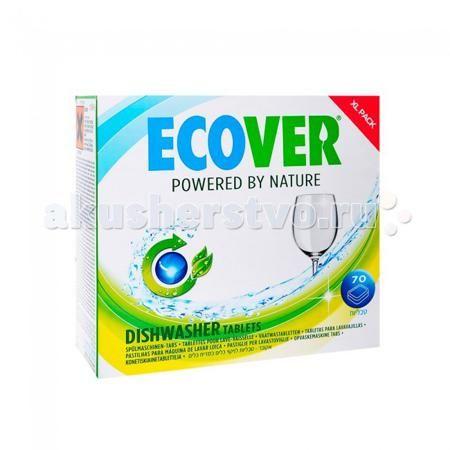 """Ecover Экологические таблетки для посудомоечных машин 1,4 кг  — 1465р.   Экологические таблетки Ecover для посудомоечных машин 1,4кг   Особенности:    Великолепно растворяют жиры и придают блеск посуде.  Легко дозируются.  Гигиеничные, эффективные и безопасные.  Оставляют посуду чистой от химикатов и ядов.  Свежий аромат из компонентов на растительной основе, не содержит синтетических ароматизаторов.  Не содержат хлор и вещества вредные для окружающей среды.  Экологические препараты """"Эковер""""…"""