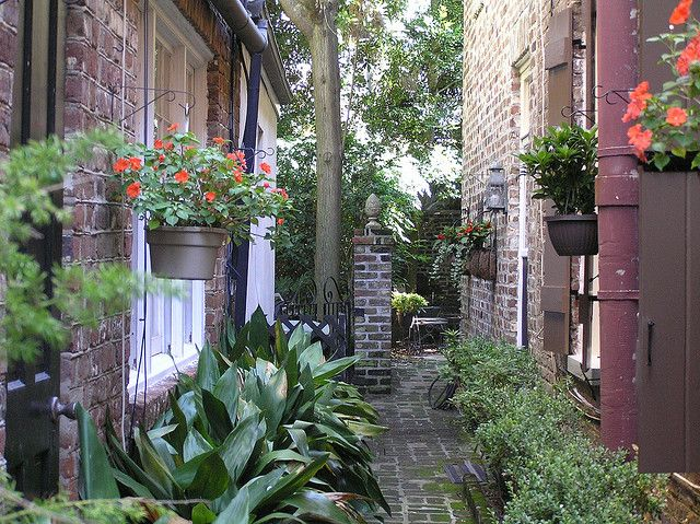 11 best images about beautiful corners and hidden places for Landscaping rocks charleston sc
