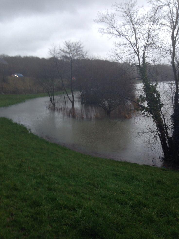 Flooded reservoir