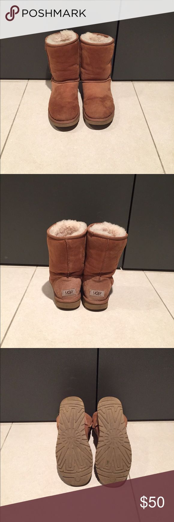 Classic short UGG. Size 8. Color: Chestnut. Classic short UGG. Size 8. Color: Chestnut. UGG Shoes Winter & Rain Boots