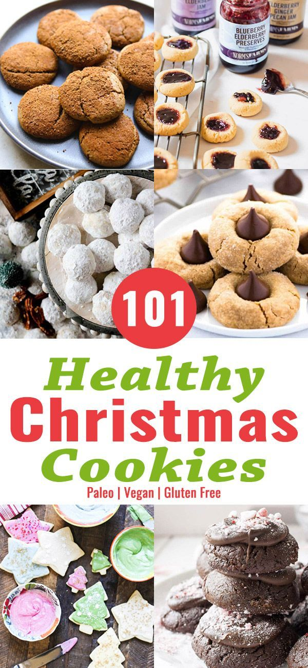 101 Healthy Christmas Cookie Recipes Find Your Favorite Christmas