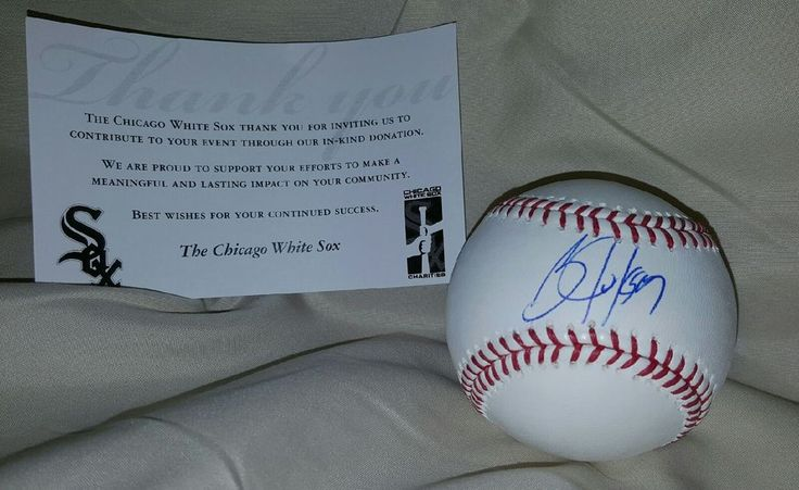 Bo Jackson Autographed Baseball Official Auth White Sox / KC Royals