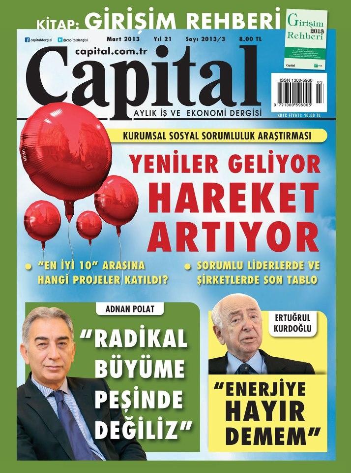 Capital Dergisi, Mart sayısı yayında! Hemen okumak için: http://www.dijimecmua.com/capital/