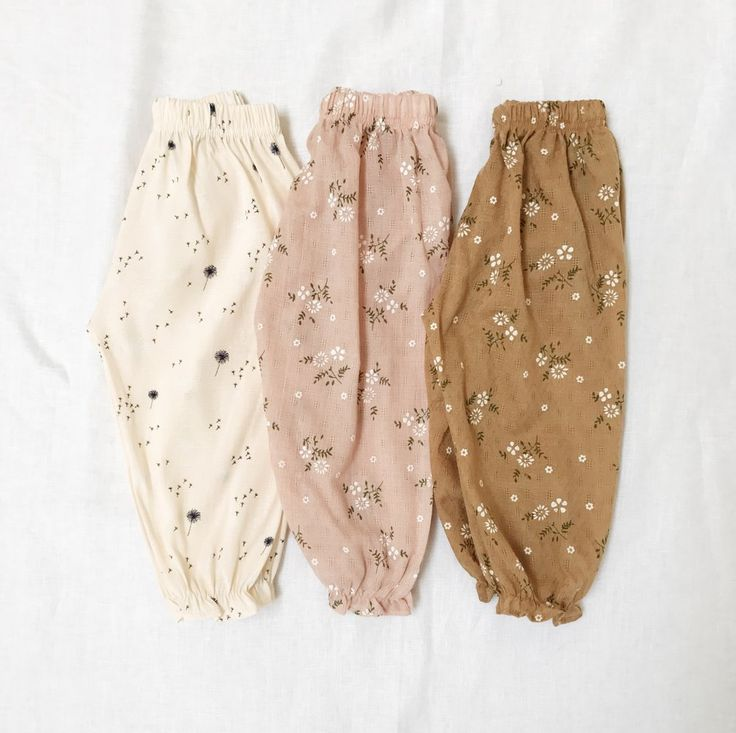 Image of LAUREL PANTS Ramie and Weave #hippie baby clothing,