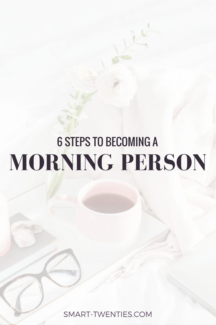 Want wake up early but can't stay motivated? Find out how to become a morning person, stick to a morning routine and be productive