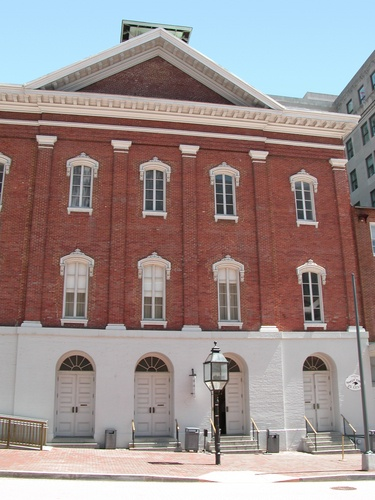 Ford's Theatre, Washinton D.C. Site of Abraham Lincoln's assassination.