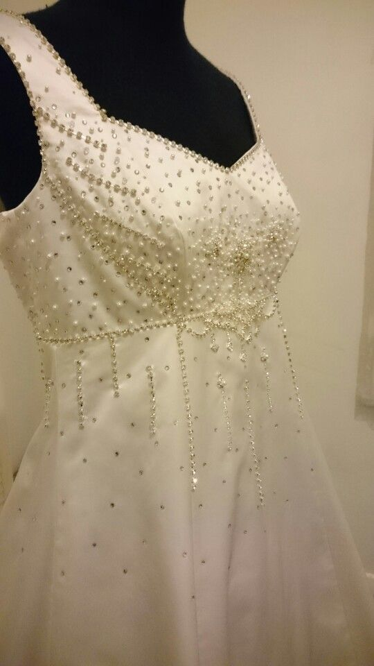 Dress made by Dragon Blood Creations Terry Brown  Hand Beading by Sarah Cotis  Call 0418 101 255 for your wedding