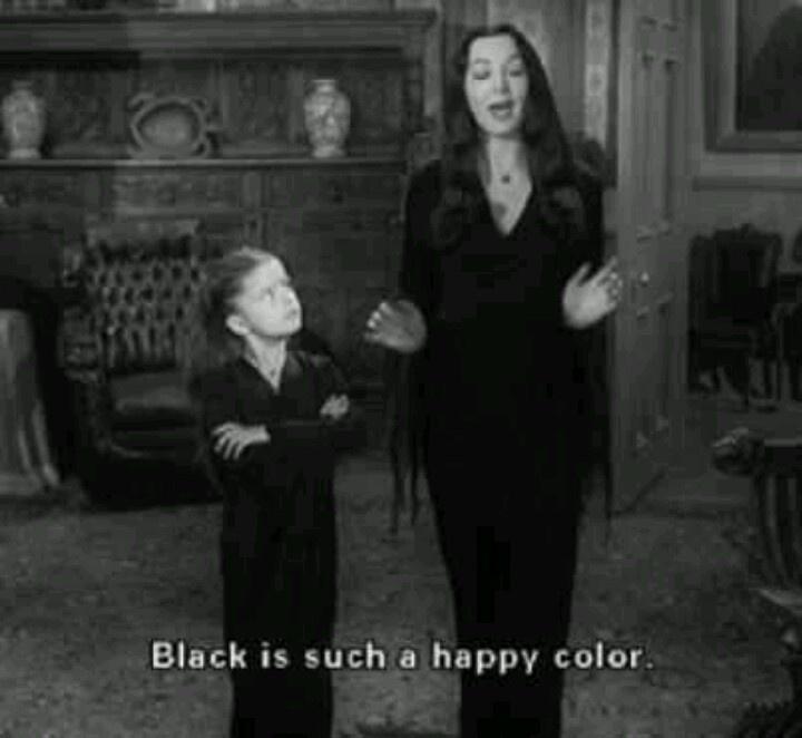 quot black is such a happy color quot addams family ff lara happy color lak bezbojni 008 internet prodavnica auto ke