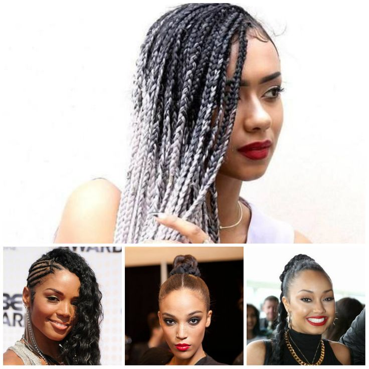 2018 plaited hair trends for black women