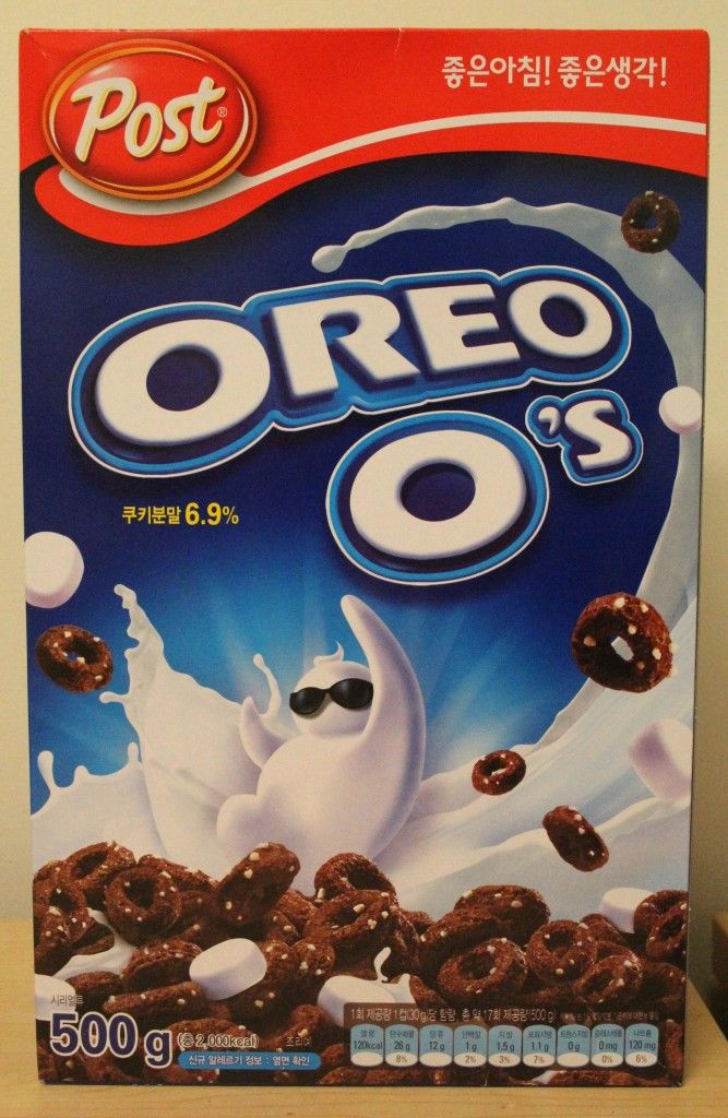 South Korean Oreo O's Cereal  2016
