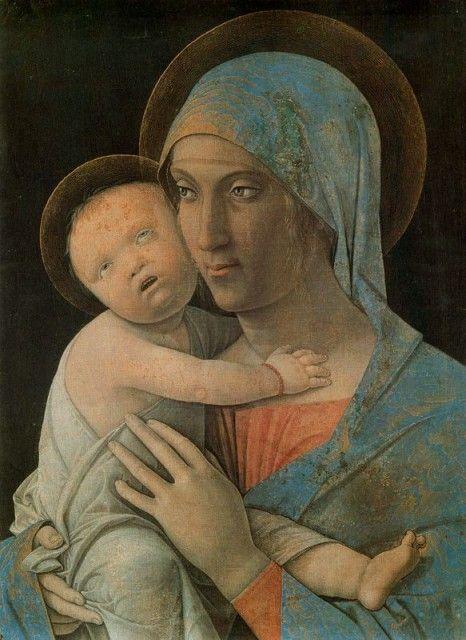 Andrea Mantegna - Virgin with child