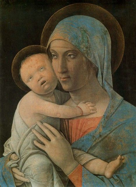 Andrea Mantegna - Virgin with child
