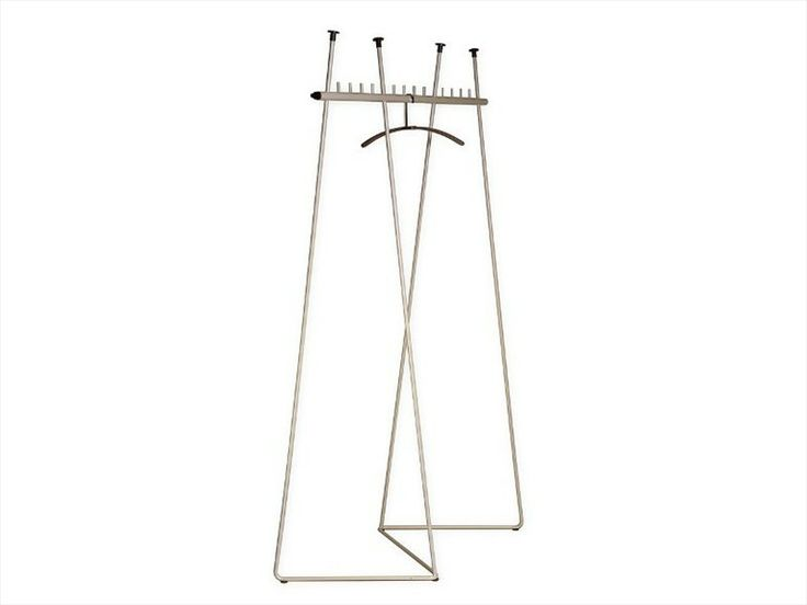 Coat rack TWO STEP by Inno Interior Oy | design Timo Vierros, Valvomo Architects